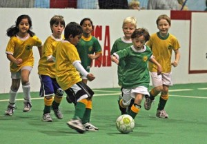 youth indoor soccer