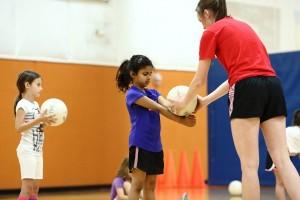 beginner volleyball